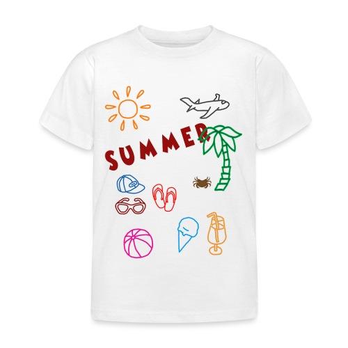 Summer - Lasten t-paita