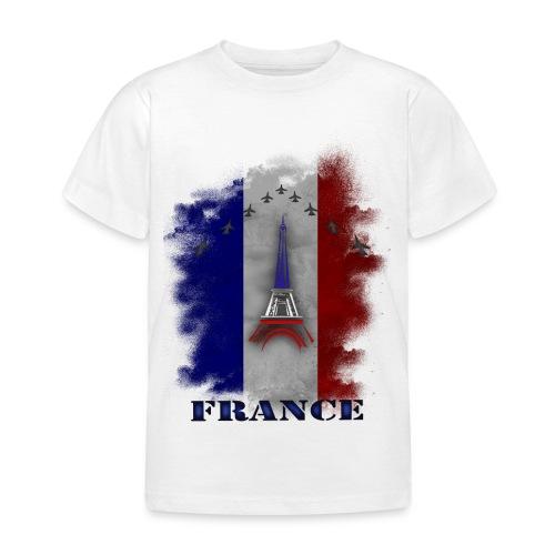 Fandesign Frankreich - Kinder T-Shirt