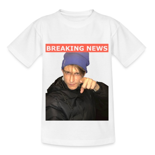 Breaking News - Børne-T-shirt