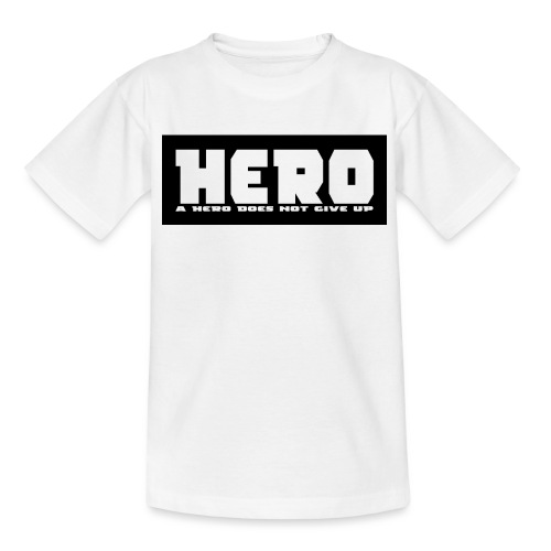 A hero does not give up - Kinder T-Shirt