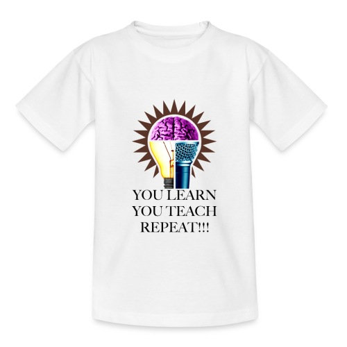 Your Learn Vit T-shirt - T-shirt barn
