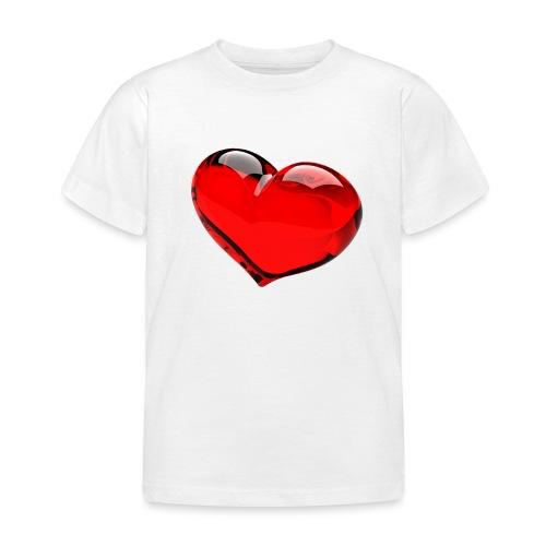 serce 3D - Koszulka dziecięca