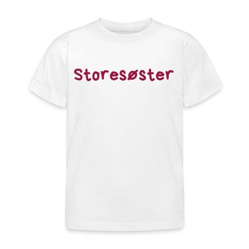 Storesøster - T-skjorte for barn