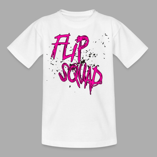 FlipSquad rosa partiklar - T-shirt barn