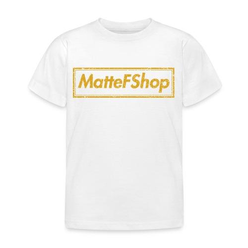 Gold Collection! (MatteFShop Original) - Maglietta per bambini