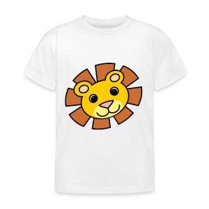 funimals_lejon_f--rg_-2- - T-shirt barn