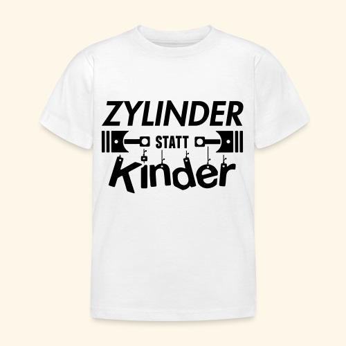 Zylinder Statt Kinder - Kinder T-Shirt