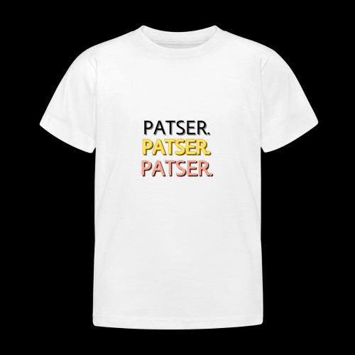 PATSER GOUD - Kinderen T-shirt