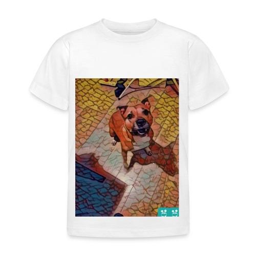 Foxy in kleur - Kinderen T-shirt