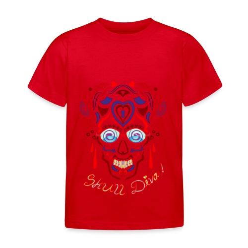 Skull Tattoo Art - Kids' T-Shirt