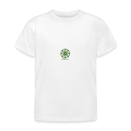 La boule d'atôme en vert - Kinder T-Shirt