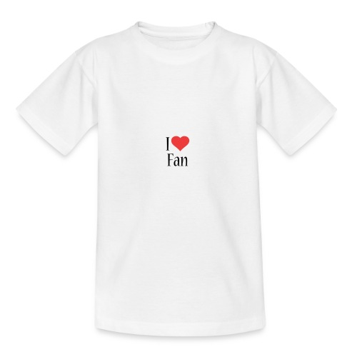 I LOVE FAN!!! - T-shirt Enfant