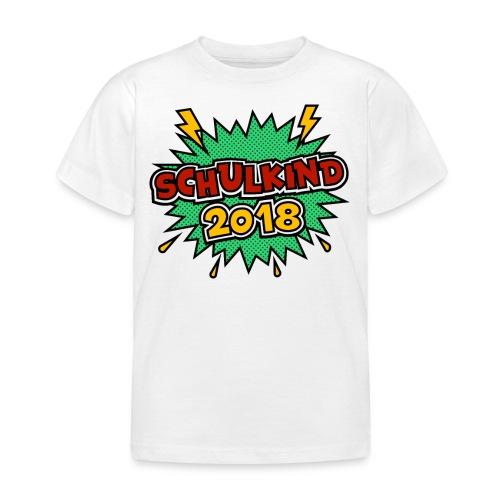 Schulkind ein schönes Geschenk zum Schulantritt - Kinder T-Shirt