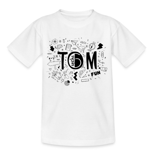 Tom goes to school - Kinder T-Shirt