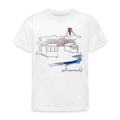 Blokhus 1 - logo - Børne-T-shirt