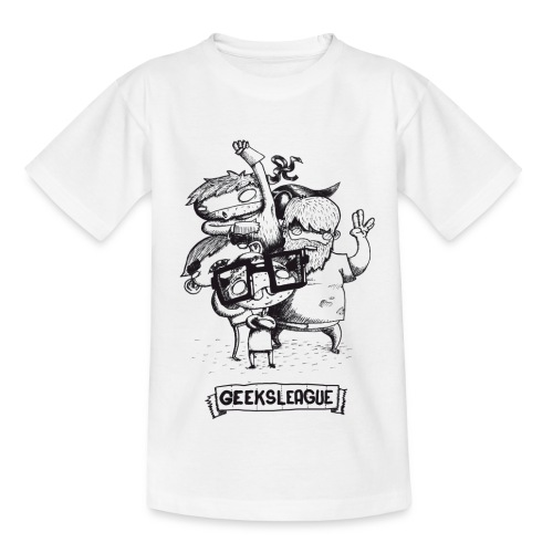 Illu Geeksleague - T-shirt Enfant