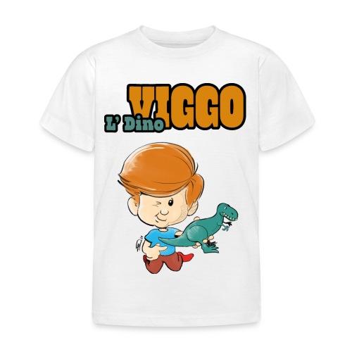 LDinoViggo Logo total - Børne-T-shirt