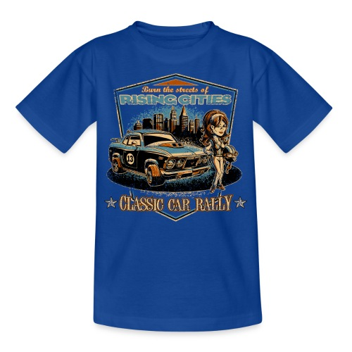 risingcities classiccarrally - Kinder T-Shirt