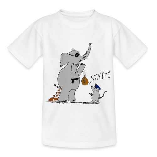 Bankraub Fail - Kinder T-Shirt