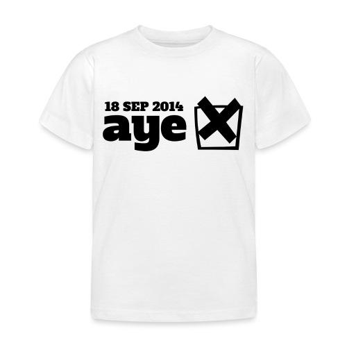 Vote Aye - Kids' T-Shirt