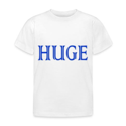 HUGESHIT png - Kinderen T-shirt