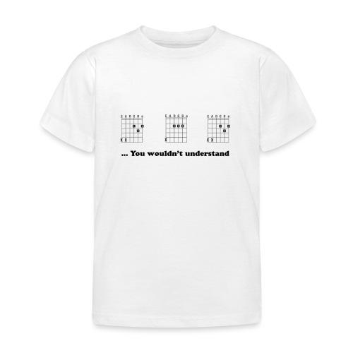 Daddy Shirt - Guitar - Kinderen T-shirt