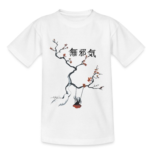 cerisier et sa balançoire - T-shirt Enfant