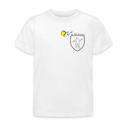 OC Gif Escrime - T-shirt Enfant