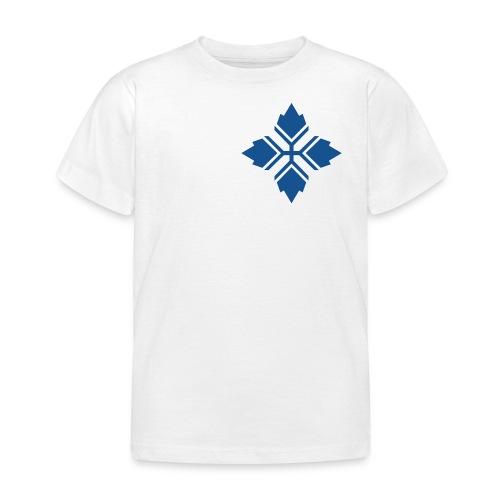 Konty logo sininen - Lasten t-paita