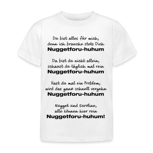 Du bist alles für mich - Kinder T-Shirt