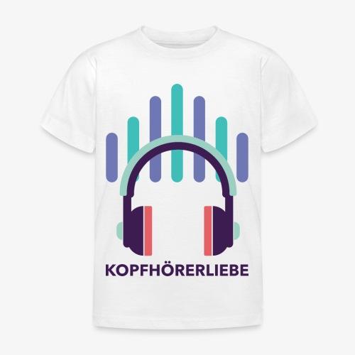 kopfhörerliebe - Kinder T-Shirt