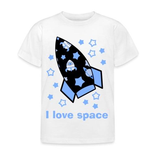 I love space - Maglietta per bambini
