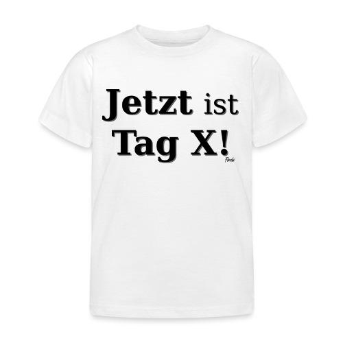 Tag X - Kinder T-Shirt