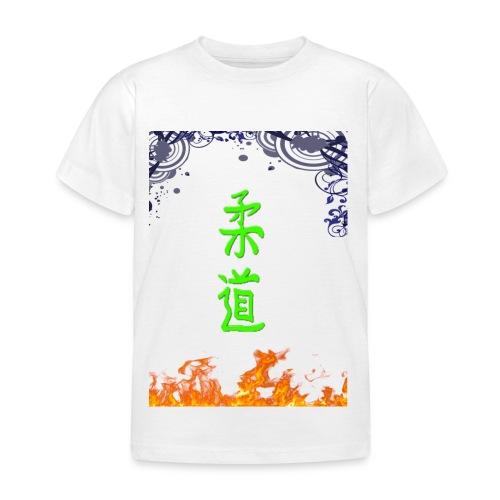 Judo On Fire - T-shirt Enfant