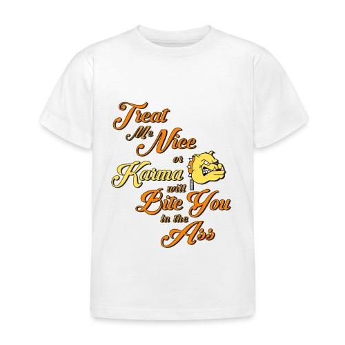 Karma - Treat me nice - T-shirt barn