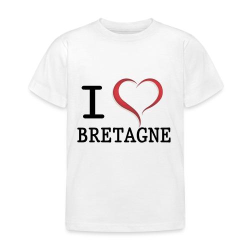 i love bretagne design - T-shirt Enfant