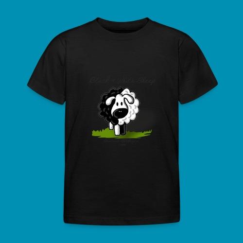 B W Sheep green png - Maglietta per bambini
