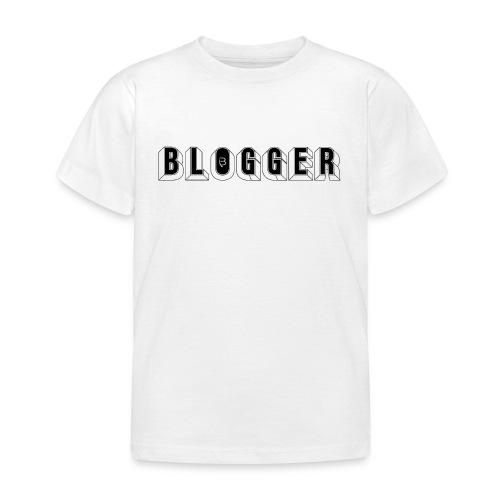 0181 Blogger   Blog   Website   Homepage - Kids' T-Shirt
