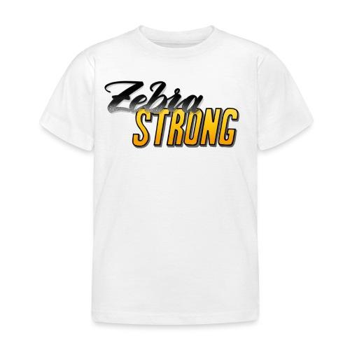 Zebra Strong - Kinder T-Shirt