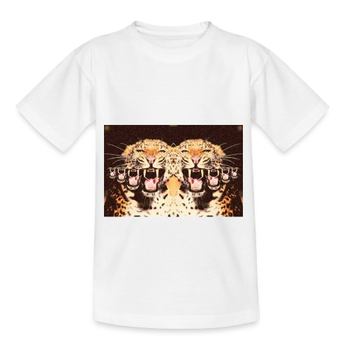 tijgermond jpg - Kinderen T-shirt