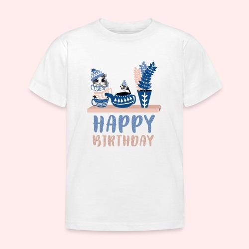 Happy Birthday Geburtstag - Kinder T-Shirt