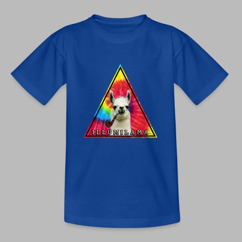 Illumilama logo T-shirt - Kids' T-Shirt