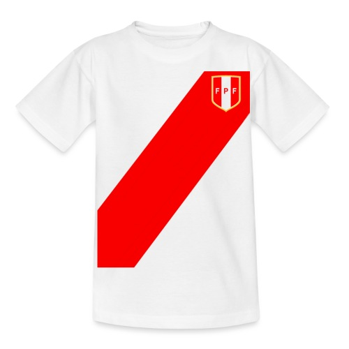 Seleccion peruana de futbol (Recto-verso) - Kids' T-Shirt