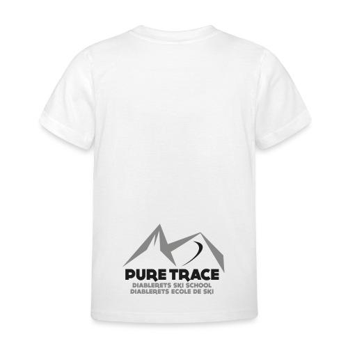 logo-PURE_TRACE-black - T-shirt Enfant