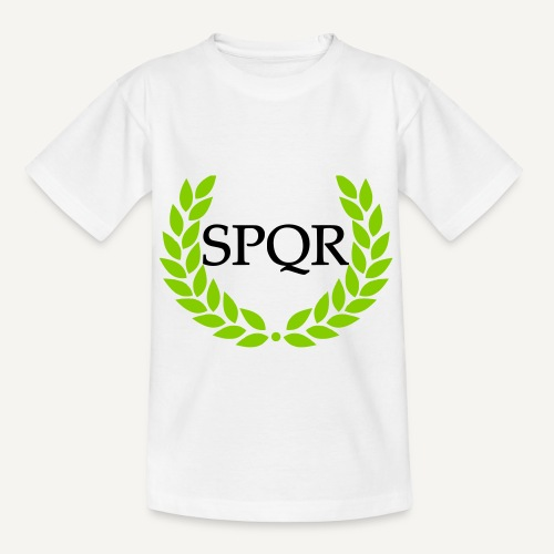 spqr (wg. http://upload.wikimedia.org/wikipedia/ - Koszulka dziecięca