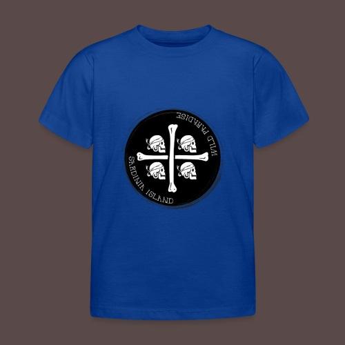 Sardegna Quattro Mori Pirata - Maglietta per bambini