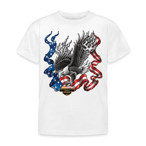 american eagle schrift gross - Kinder T-Shirt