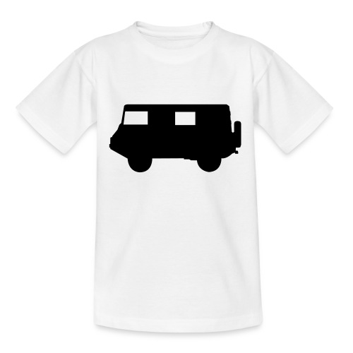 pikto seite1 sw o linien - Kinder T-Shirt