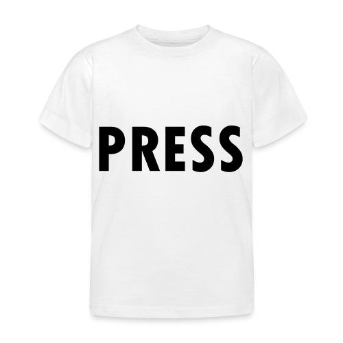 press - Kinder T-Shirt