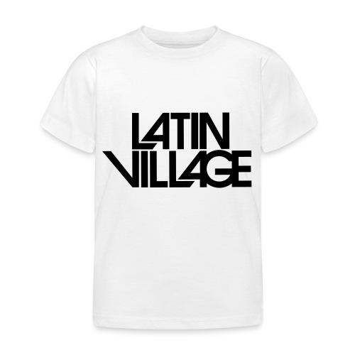 Logo Latin Village 30 - Kinderen T-shirt